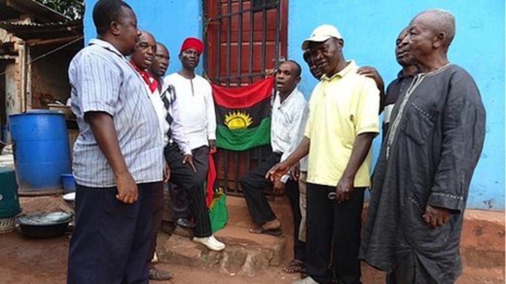 The Biafrans who still dream of leaving Nigeria - BBC News