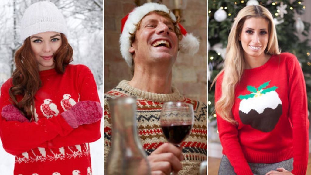 The rise of ironic Christmas jumpers - BBC News