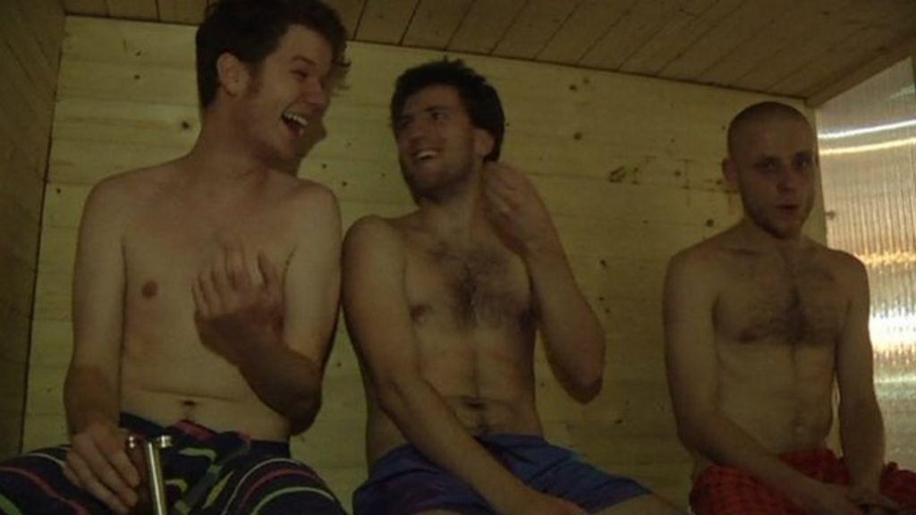 Why Prague S Newest Sauna Is A Hot Ticket Bbc News