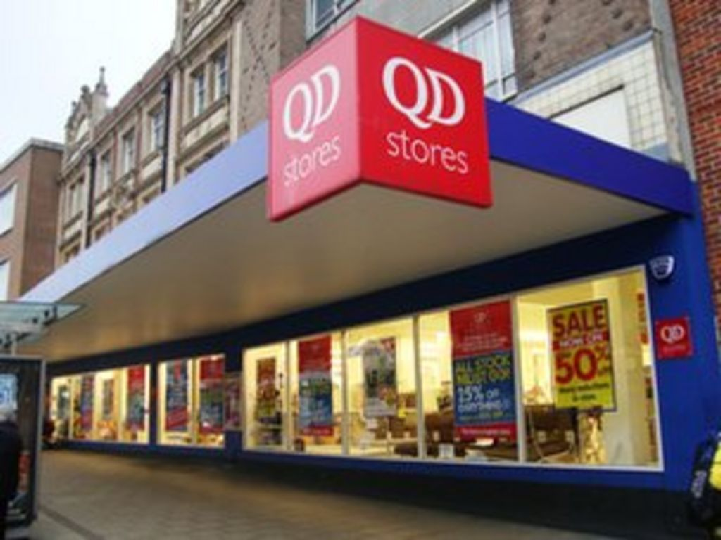 QD Stores buys Thingmebobs discount shop chain - BBC News