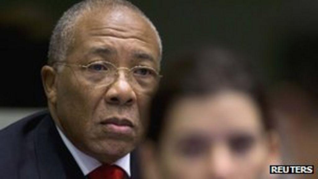 dc607a408b Liberia s Charles Taylor appeals at The Hague - BBC News