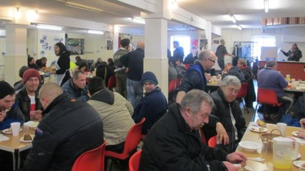 community spirit fuels wolverhampton soup kitchen bbc news