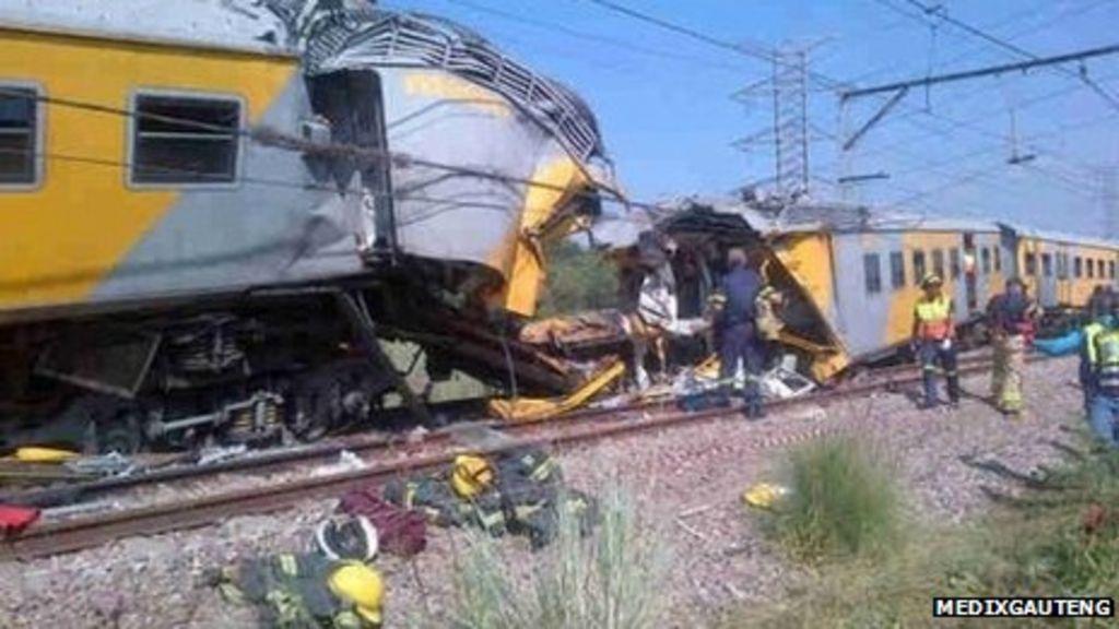 Children hurt in SA train crash