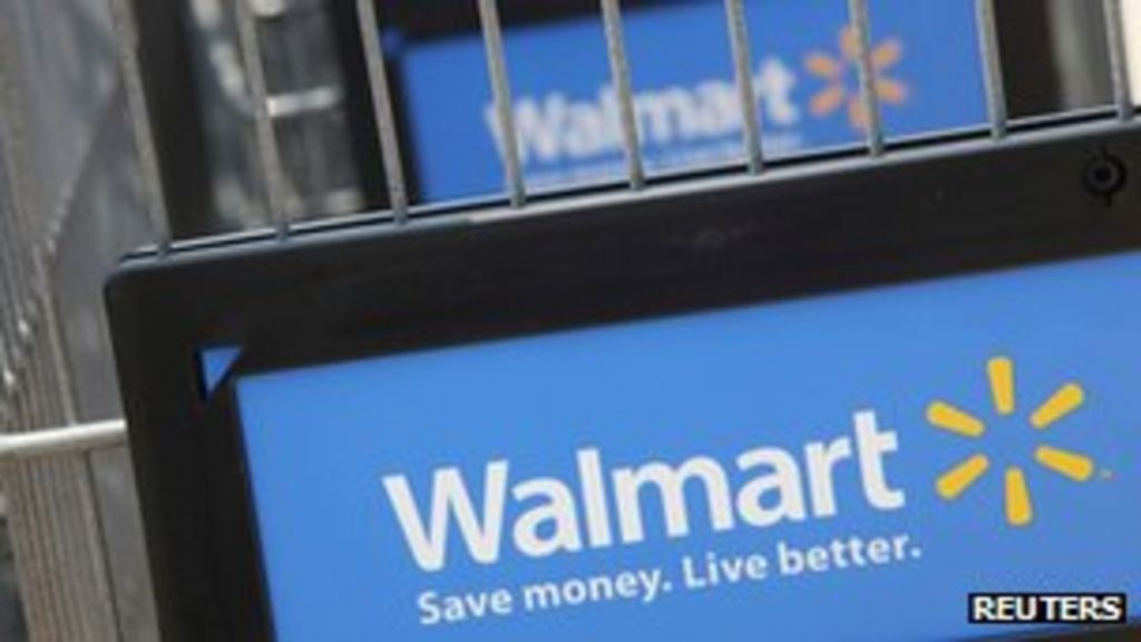 Wal-Mart fined for dumping hazardous waste in US - BBC News