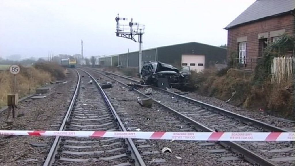 Jane Harding, 52, who died, was a passenger in a car that was hit by a  train in 2010