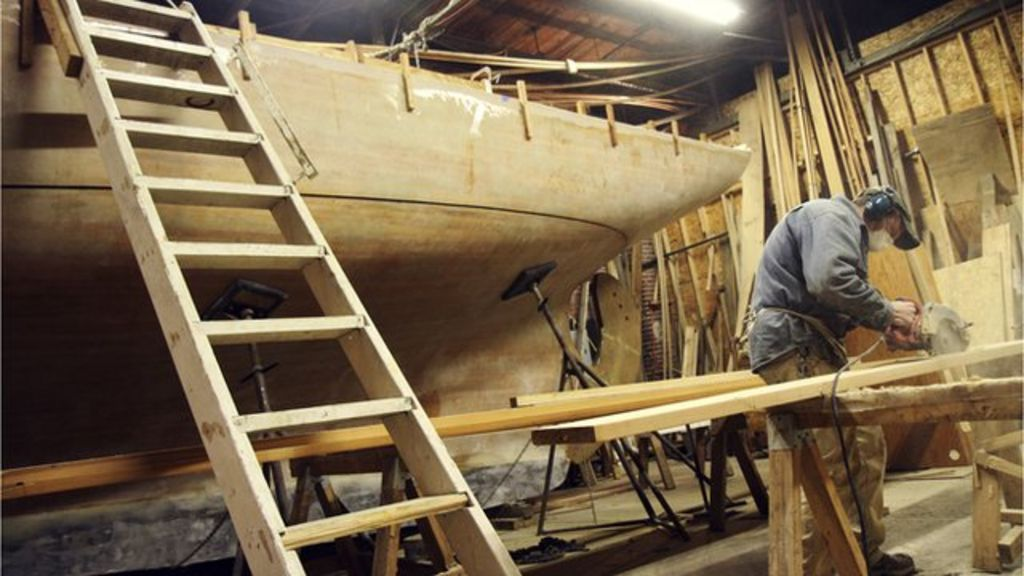 One Man S Eight Year Effort To Build A Wooden Ship By Hand