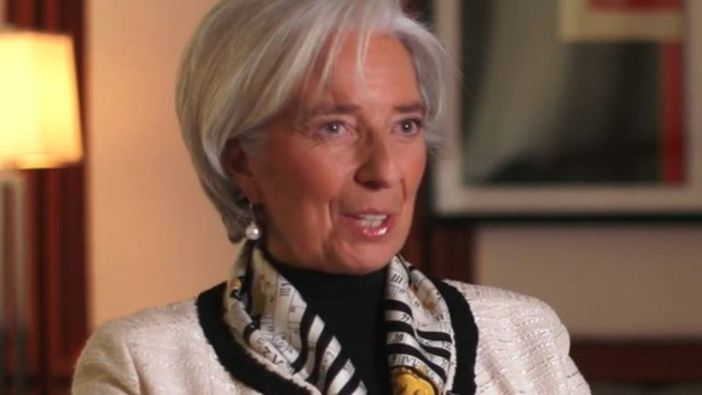 Christine Lagarde: 'Women should not imitate men'