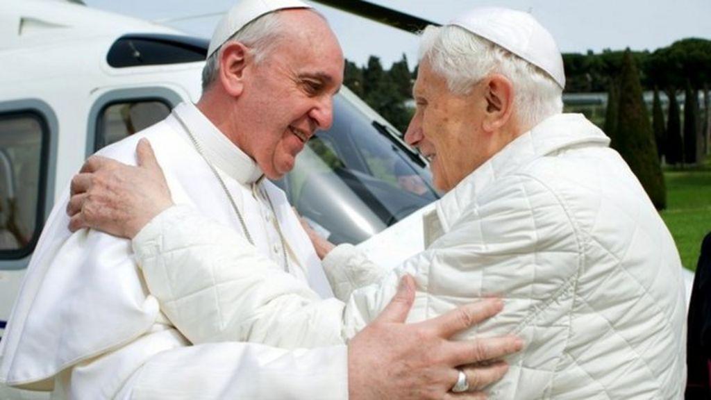 pope francis pope benedict comparison