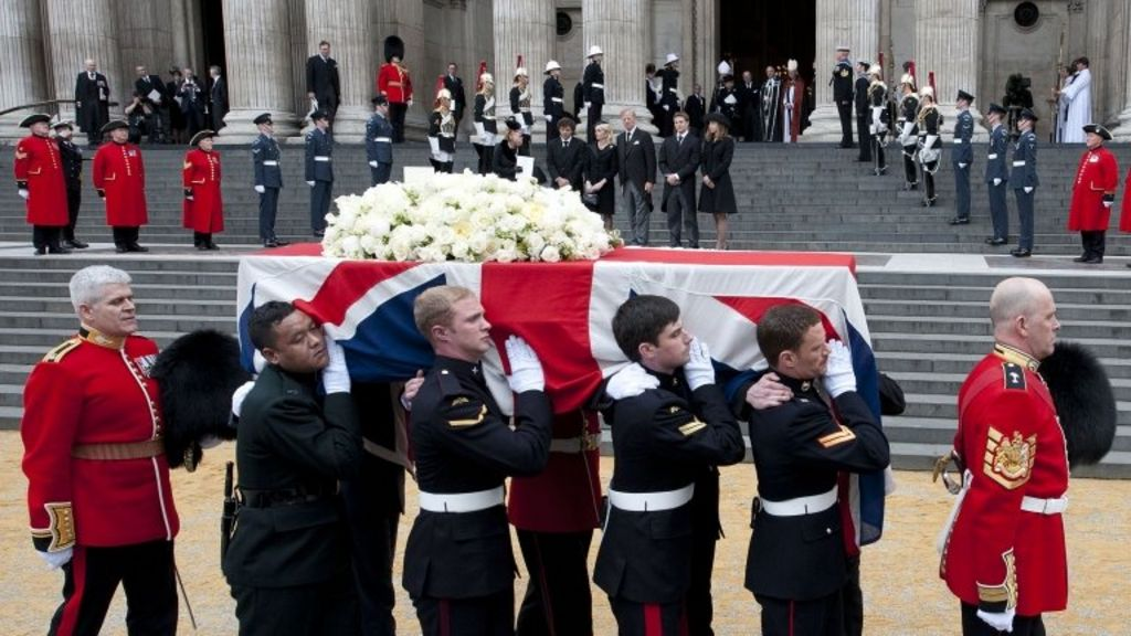 Image result for margaret thatcher funeral