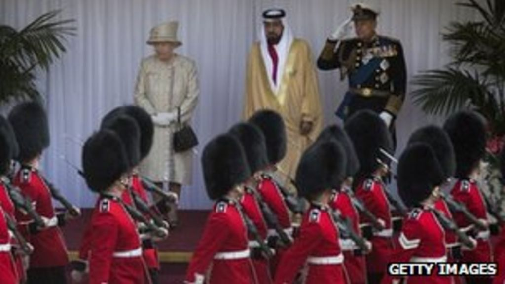 UAE president meets Queen on first day of UK state visit