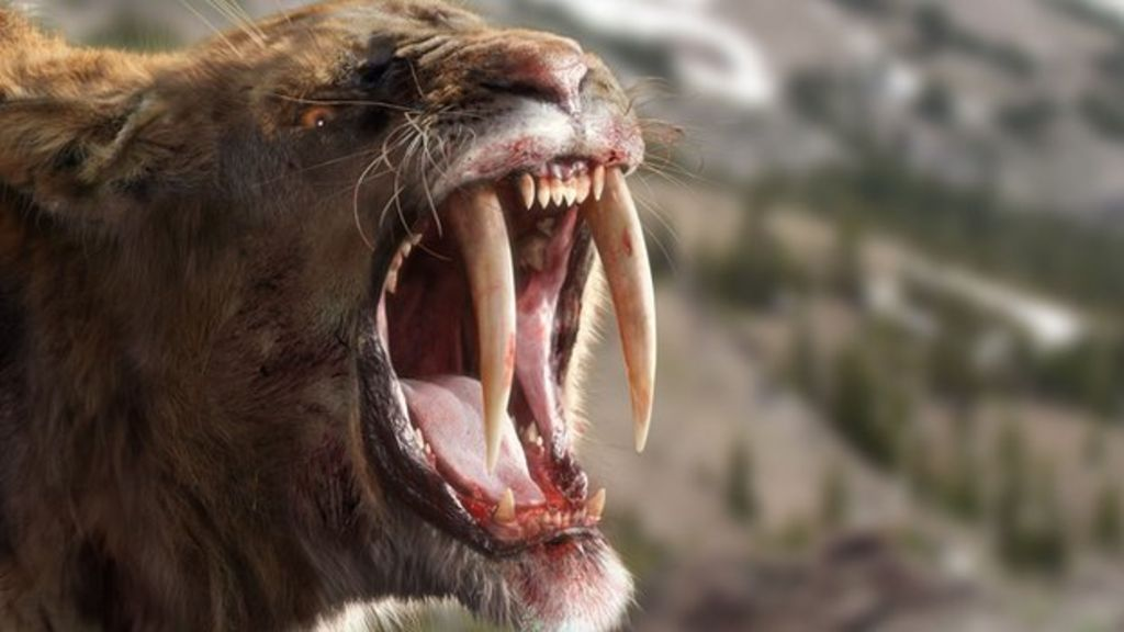 Sabre-Tooth Cat: Predator by Design - Ice Age Giants ...