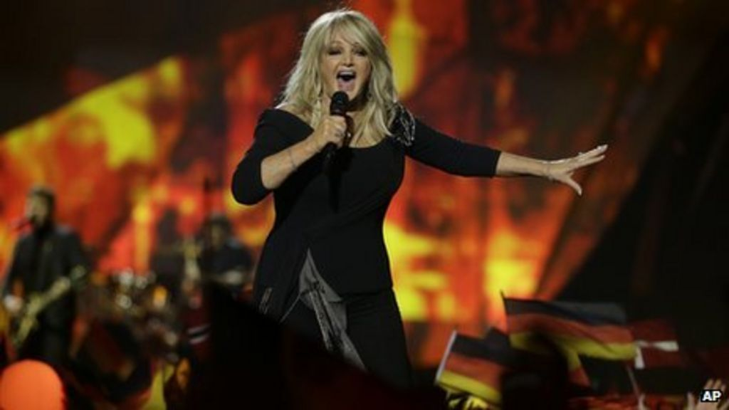Bonnie Tyler: 'I did my best at Eurovision' - BBC News