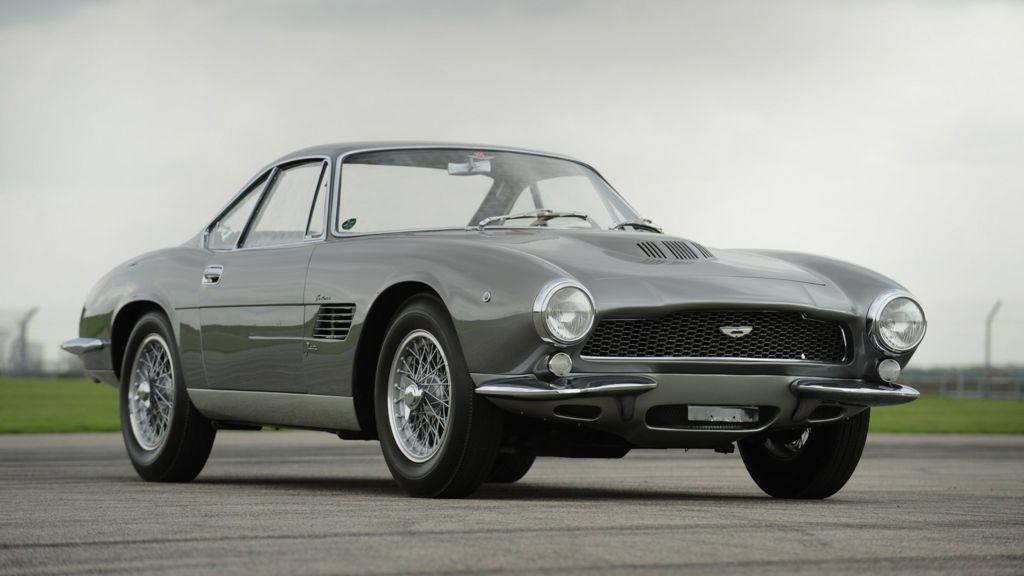 Aston Martin Db4 Fetches Record Auction Price Bbc News