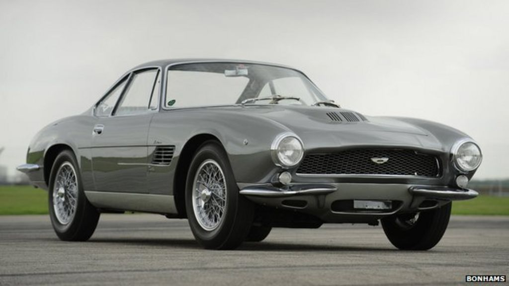 Aston Martin Db4 Fetches Record Auction Price Bbc News