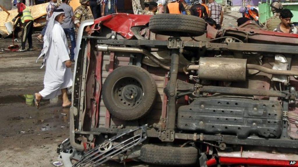 Dozens die in Iraqi bomb attacks