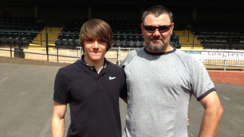 Derbyshire teen becomes 'fastest 14-year-old in Europe