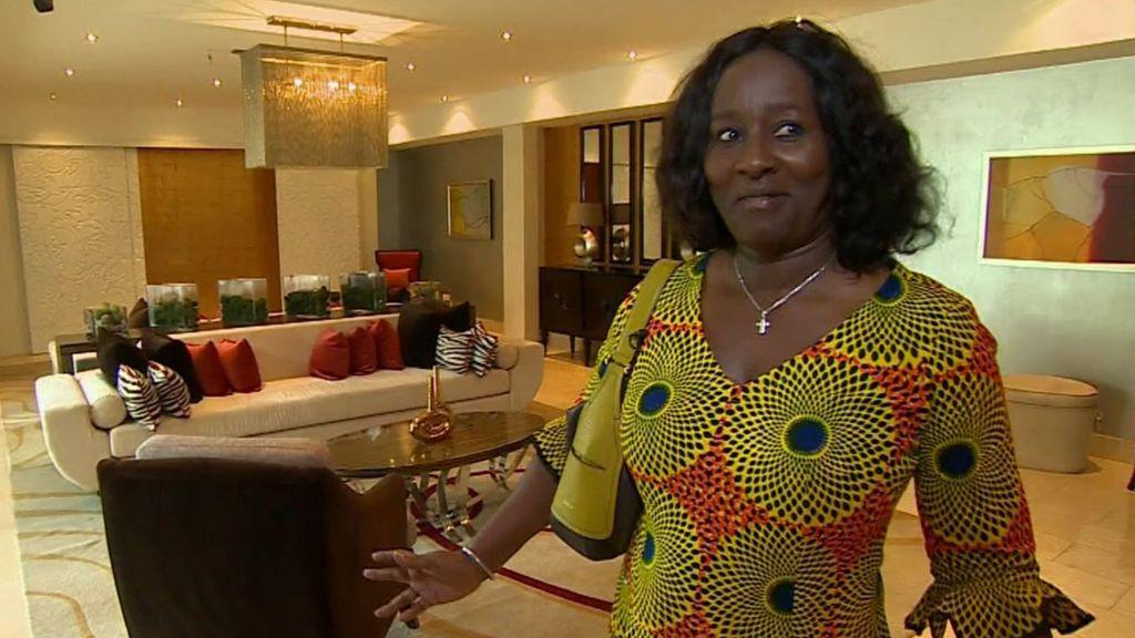 Ghanau0027s Luxury Building Boom: A Pool With A View   BBC News