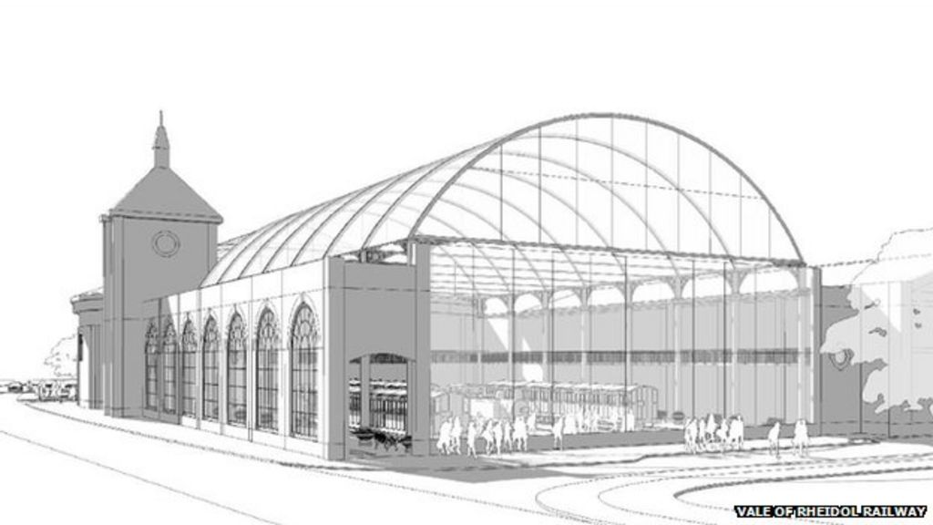 London Bridge Station Roof Set For Aberystwyth Museum