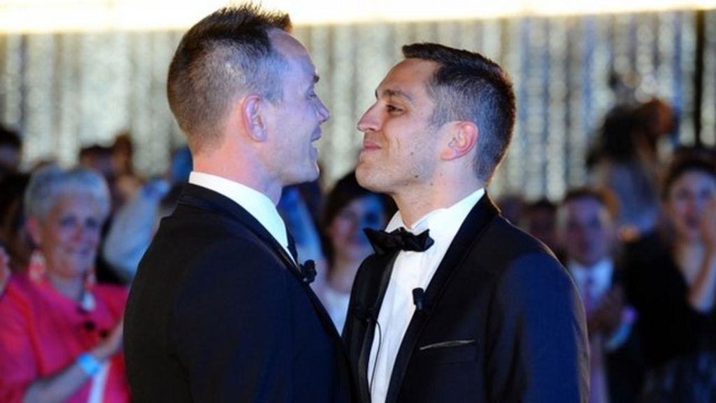 from Gary first gay couple wed in ca