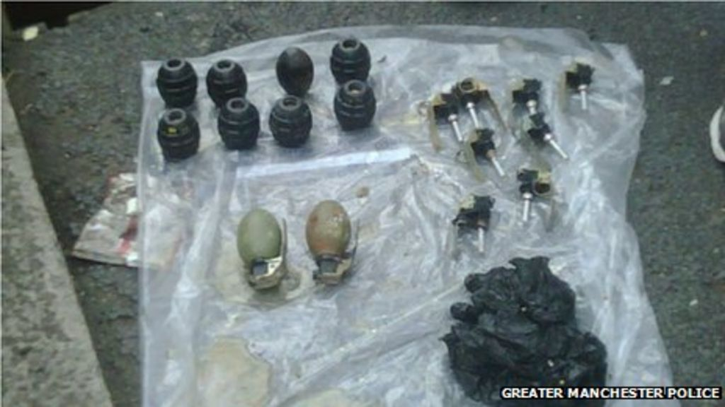 Hand grenades 'rare - but they're out there' - BBC News
