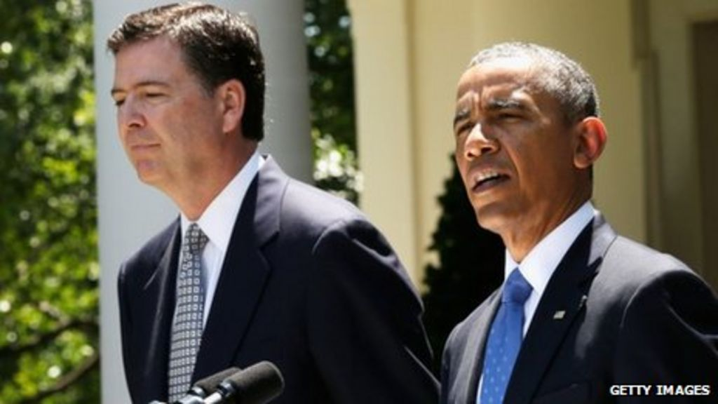 Obama names James Comey to lead FBI - BBC News