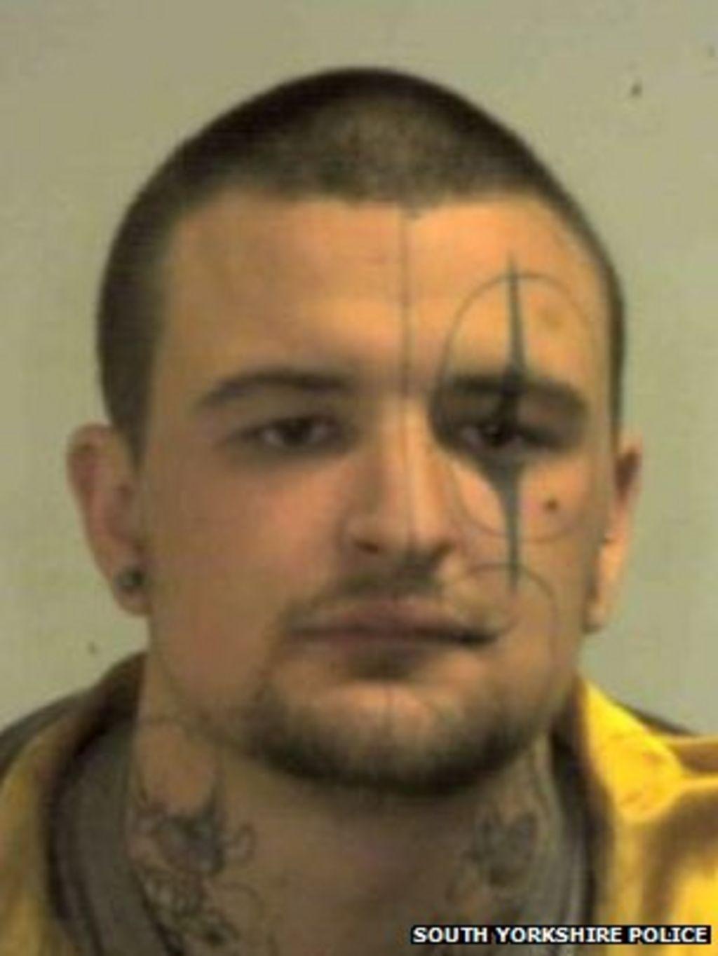 Doncaster Police Hunt 'clown-faced' Criminal