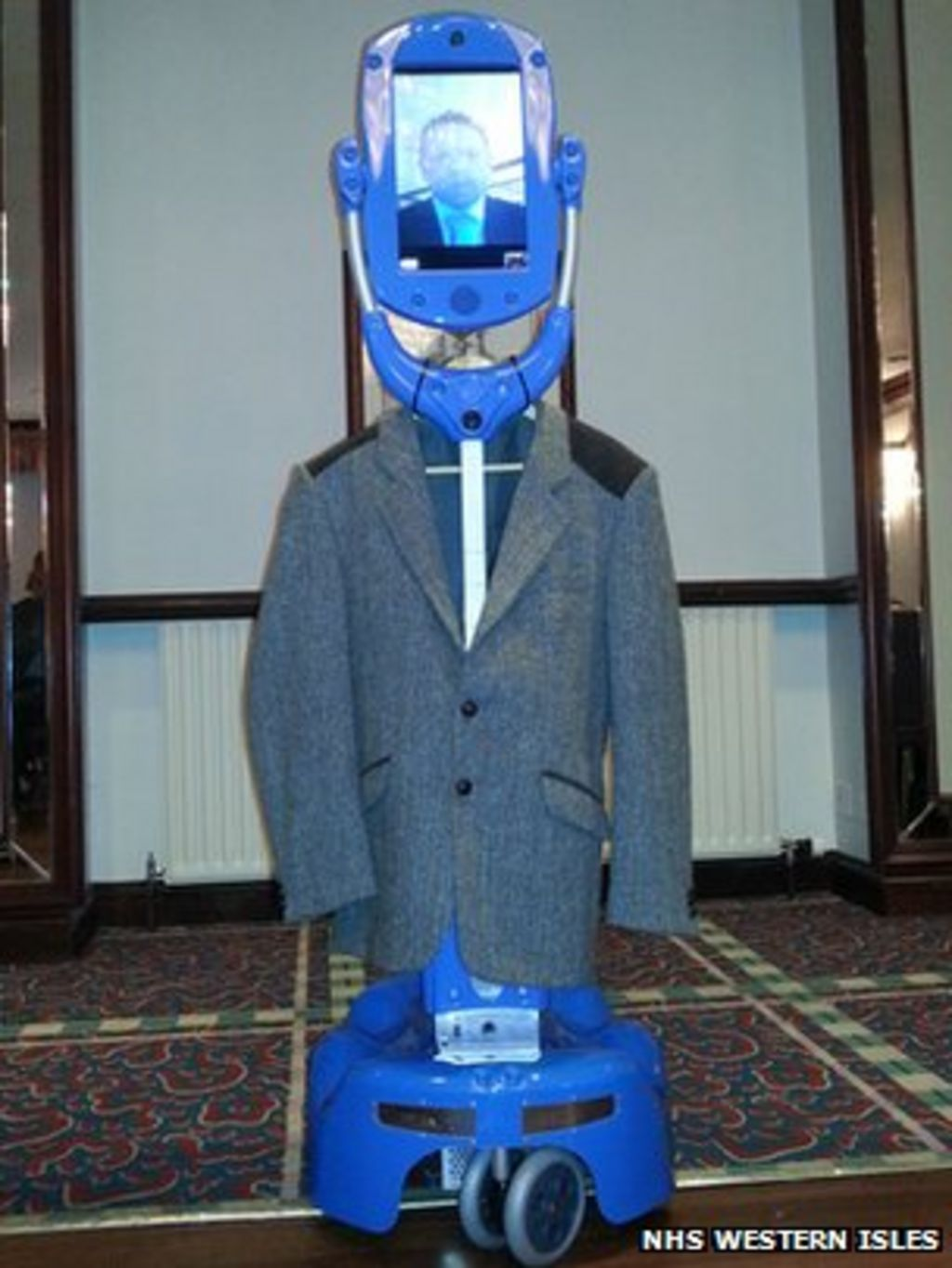 robots to help people with dementia in western isles