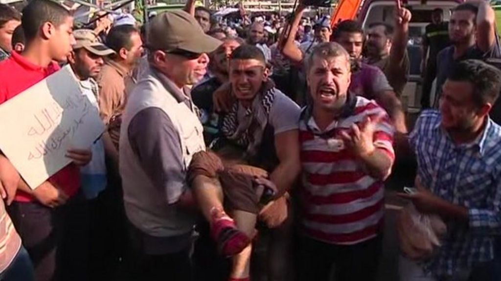 Tensions soar amid Cairo killings