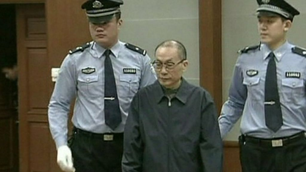 China ex-railway minister convicted