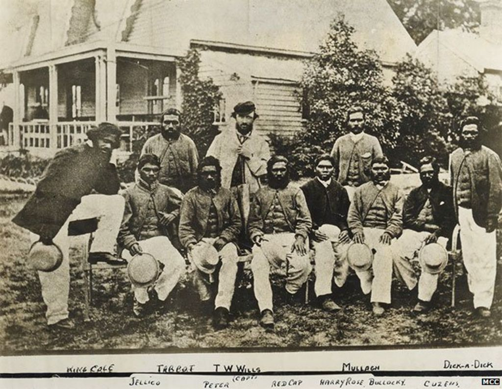 Aboriginal cricket: The first Australian tour of England, 1868 - BBC News