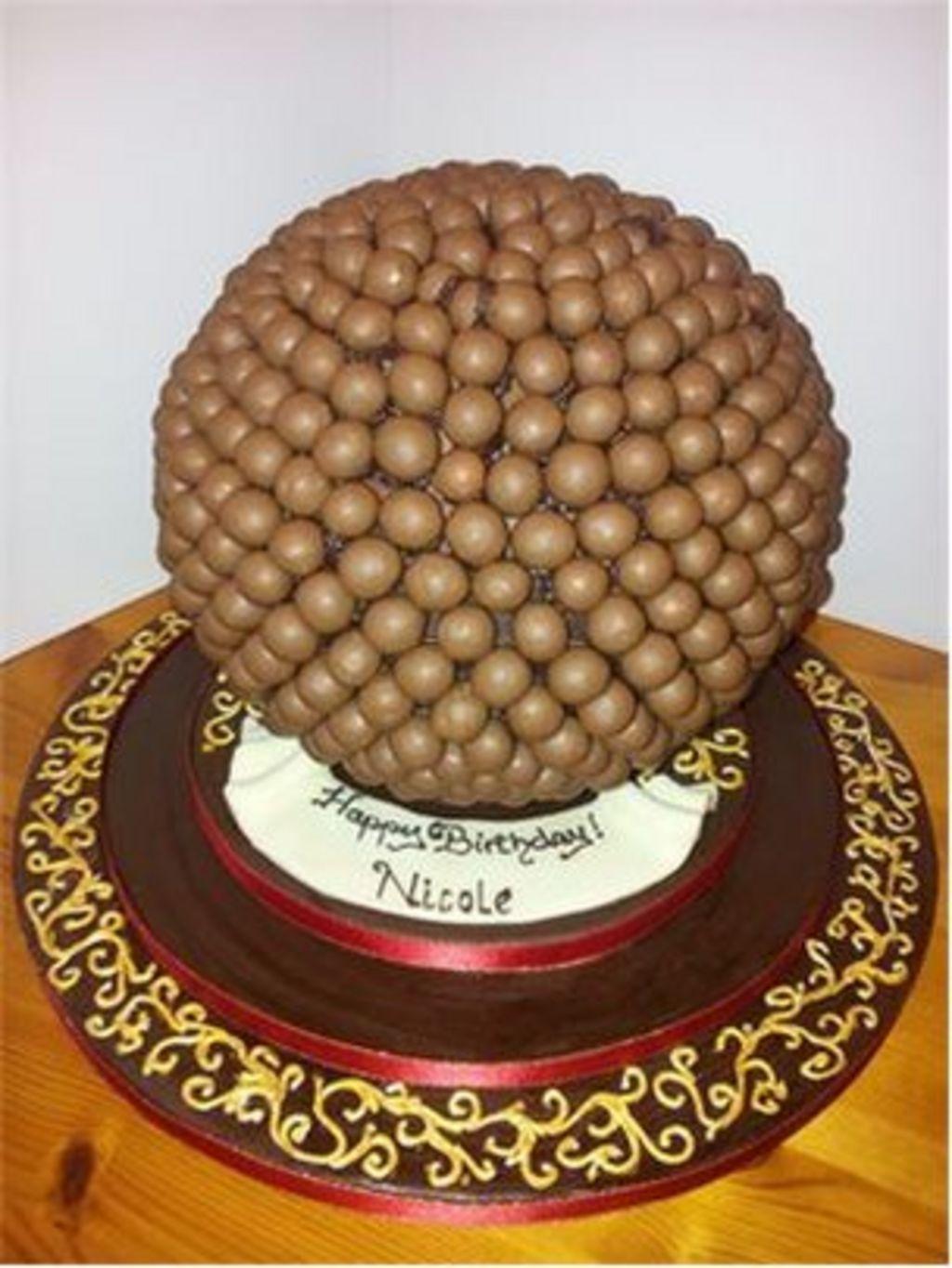 Nicole Scherzinger S Birthday Cake Made By Jayne Nantel