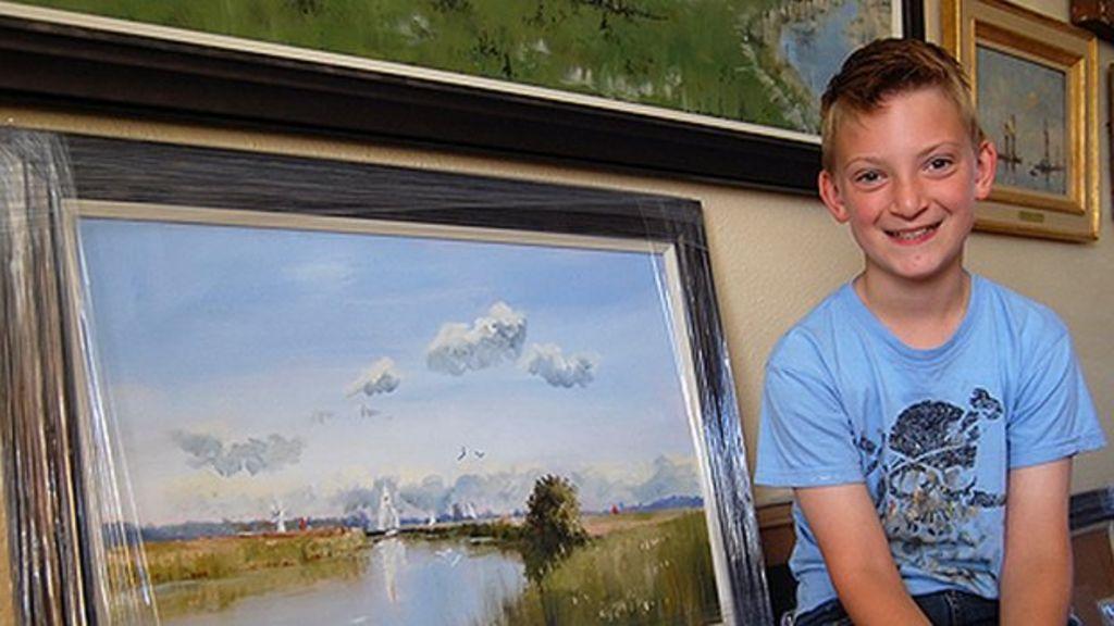 Kieron Williamson: Art prodigy poses 'ethical nightmare' for parents
