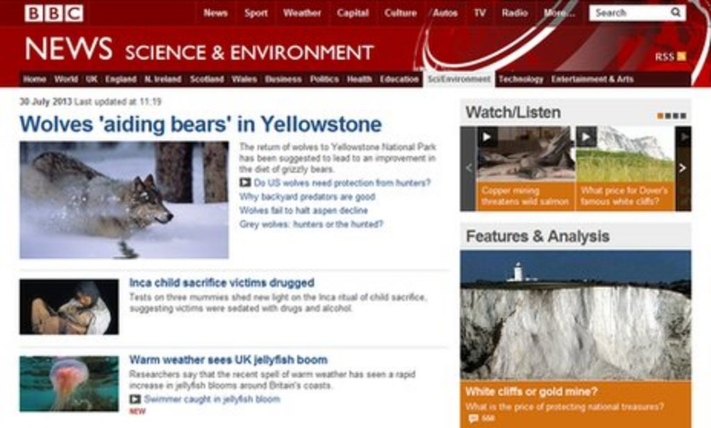 BBC tops list of 10 best science news websites - BBC News