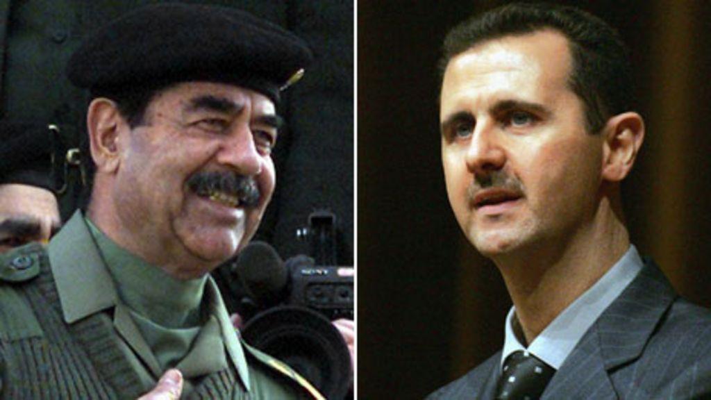 Risultati immagini per Assad   Saddam