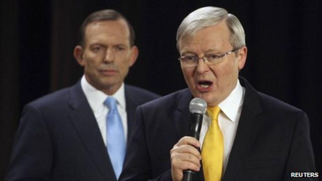 Australia Elections Rudd And Abbott In Final Push Bbc News