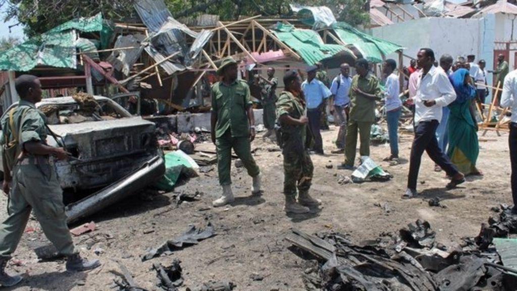BBC World Service Africa Editor Richard Hamilton: ''Ordinary people in  Mogadishu are very scared''