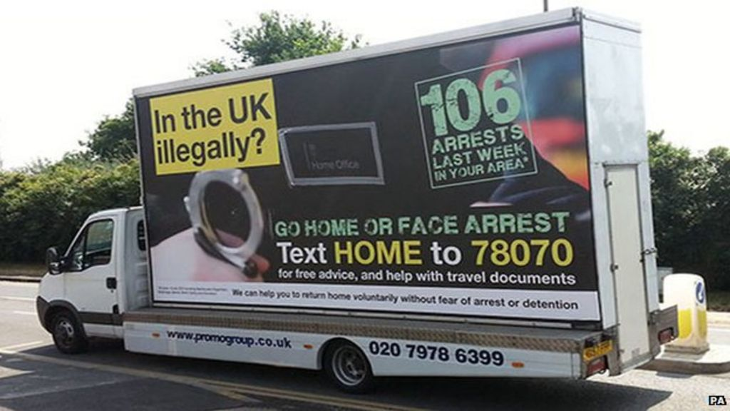 22afa59ed8 Home Office  Go home  adverts banned by watchdog - BBC News