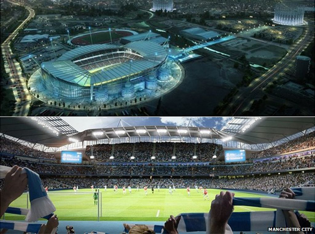 City Of Manchester Stadium: Manchester City's Etihad Stadium Expansion Approved