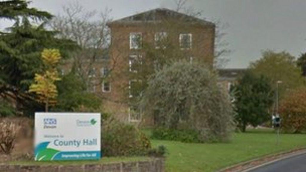 almost 240 ex devon county council staff 39 gagged 39 bbc news. Black Bedroom Furniture Sets. Home Design Ideas