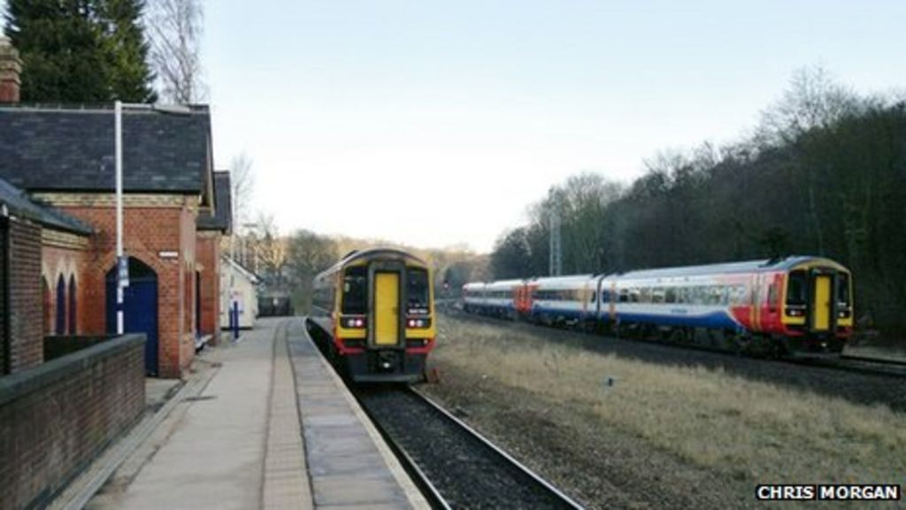 Dore and Totley station in South Yorkshire