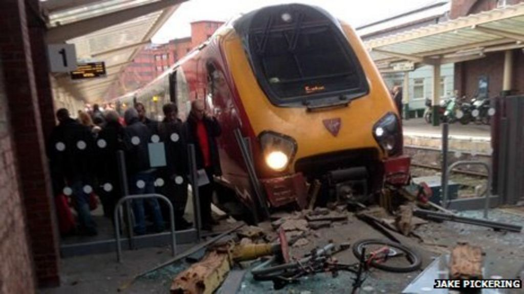 Virgin train crash