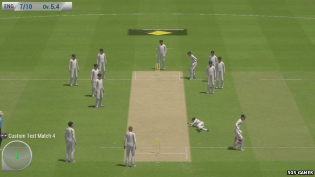 The Official Video Game For The Ashes Cricket Tour Has Been Pulled From Sale After Gamers Branded It Shameful Embarrassing And Farcical Footage Credit 505 Games