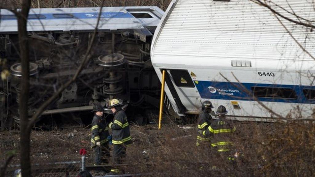 Derailed train (Pic: Steve Mann)