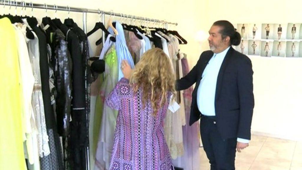 Day In The Life Of Uae Fashion Designer Essa Walla Bbc News