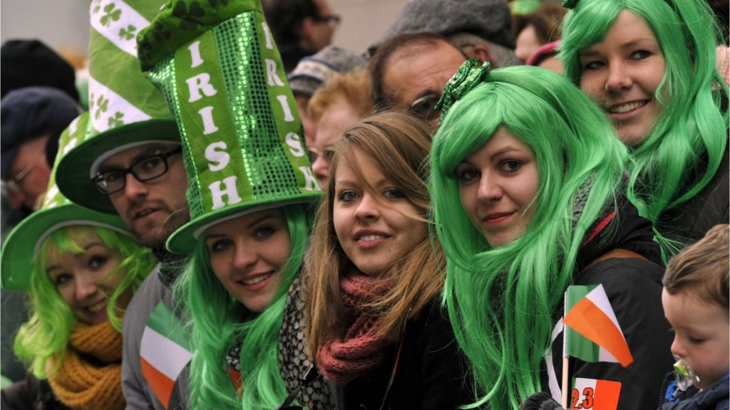 irish america immigrants bbc