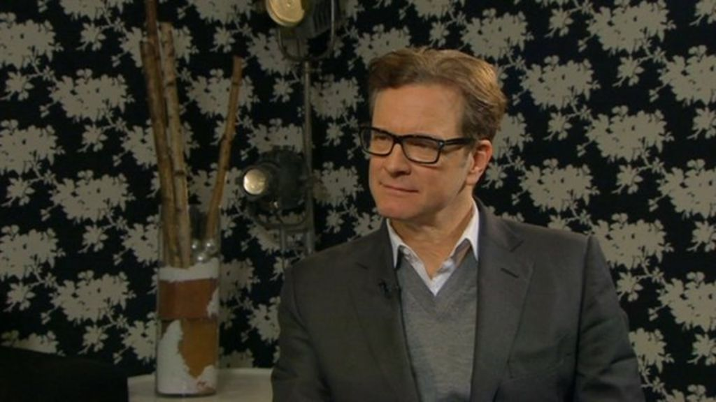 Colin Firth on Railway...