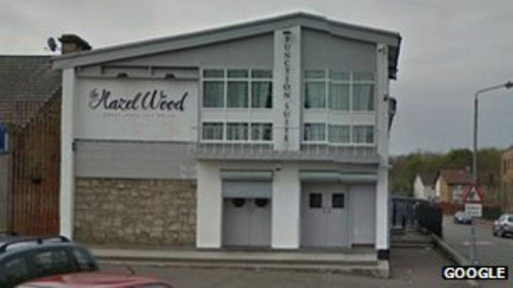 Glasgow Pub Deliberately Set On Fire Bbc News