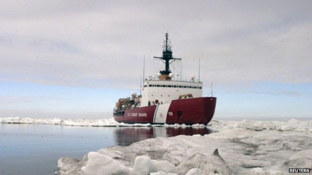 Antarctic rescue: US ice-breaker to help stuck ships - BBC News