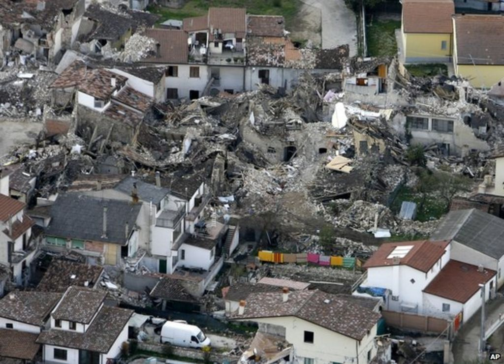 Fraud swoop in Italy39s L39Aquila earthquake zone