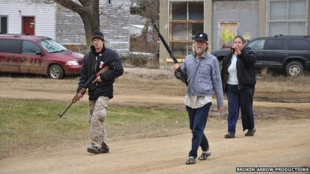 The North Dakota Town That Thwarted A NeoNazi Takeover BBC News - A map of us after white supremcists take over